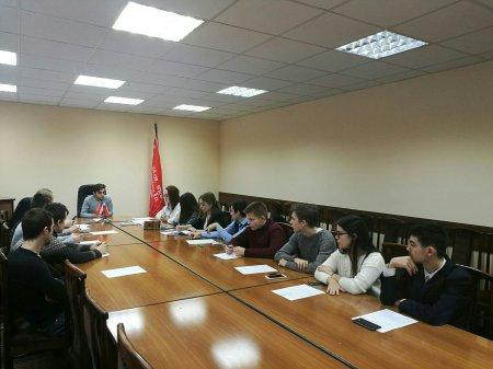 Прошло официальное собрание Молодежного парламента